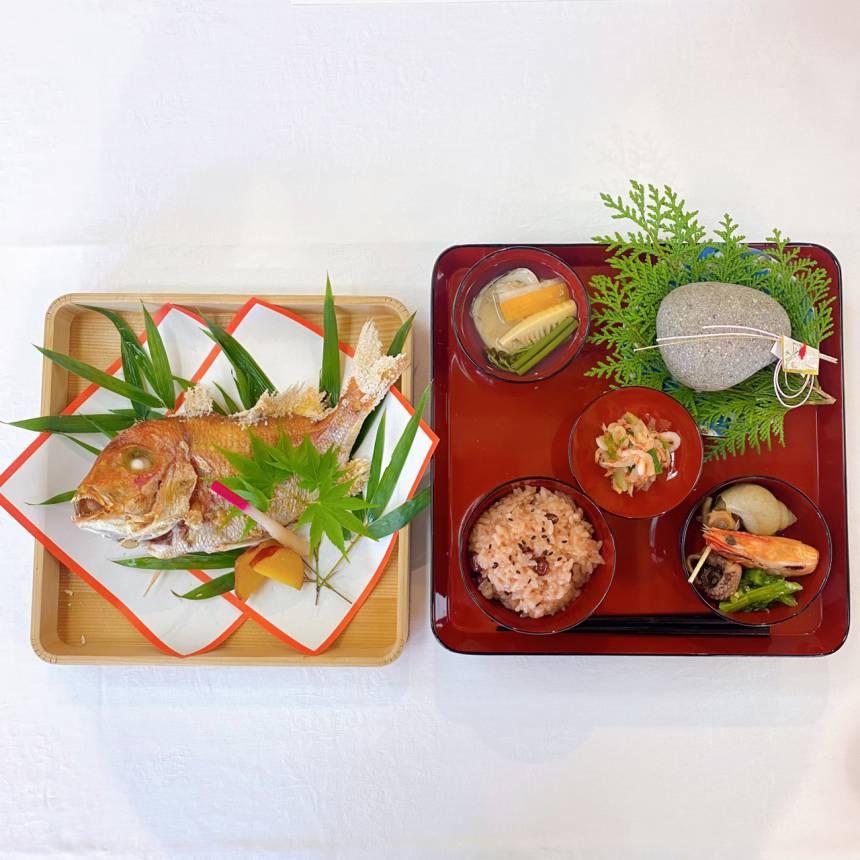 お食い初め膳 ¥3,300円(税込)